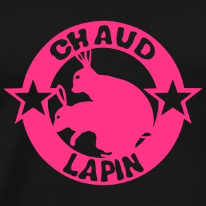 chaud lapin expression logo sexe Tee shirts - T-shirt Premium Homme