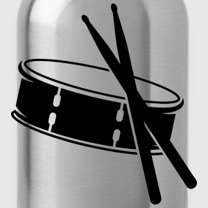 A drum and sticks T-Shirts - Water Bottle
