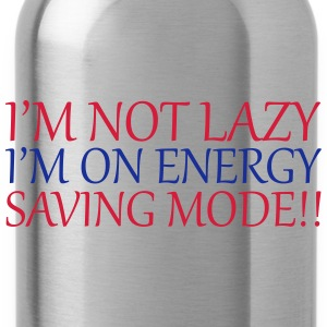 I'm Not Lazy Tops - Water Bottle