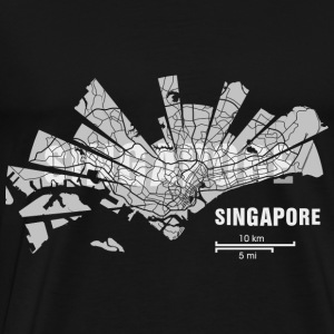Singapore Tops - Men's Premium T-Shirt