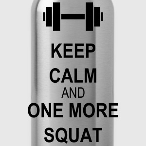 Keep calm and squat Tops - Cantimplora