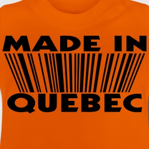 Made in Quebec 3D code Tee shirts - T-shirt Bébé