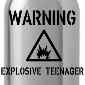 Warning Tops - Water Bottle