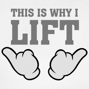 This Is Why I Lift (Comic Hands) T-Shirts - Baseballkappe