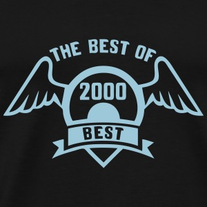 2000 the best of logo Geburtstag Tops - Männer Premium T-Shirt