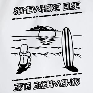 somewhere else Camisetas - Mochila saco