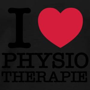 I Love Physiotherapie Tops - Männer Premium T-Shirt