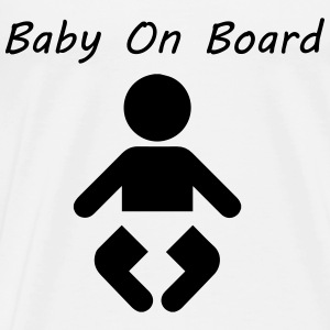 Baby On Board Tops - Men's Premium T-Shirt