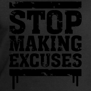 Stop Making Excuses T-Shirts - Men's Sweatshirt by Stanley & Stella