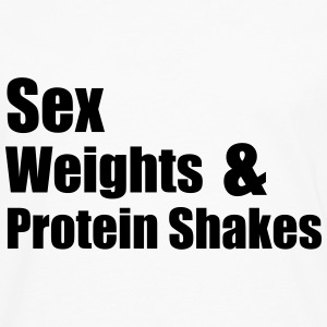 Sex Weights T-shirts - Mannen Premium shirt met lange mouwen
