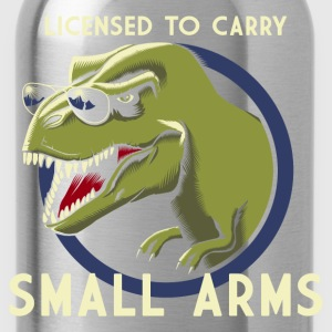 Zwart Licensed to Carry small arms Tanktops - Drinkfles