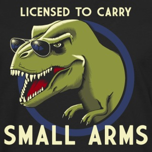 Svart Licensed to Carry small arms Tanktoppar - Långärmad premium-T-shirt herr
