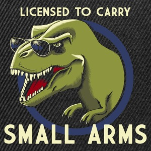 Svart Licensed to Carry small arms Tanktoppar - Snapbackkeps