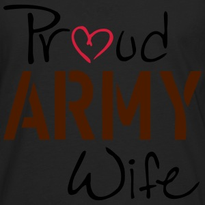 Army Wife Topper - Premium langermet T-skjorte for menn