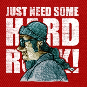 need some hard rock! - Snapback Cap
