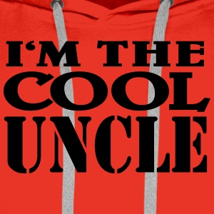 I'm the cool Uncle T-Shirts - Men's Premium Hoodie