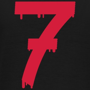 lucky number seven Sweat-shirts - T-shirt Premium Homme