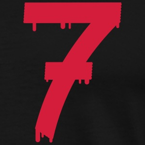 lucky number seven Polos - T-shirt Premium Homme
