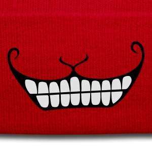 Grinsen / Cheshire cat smile (2c) T-Shirts - Wintermütze