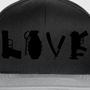 love_war T-Shirts - Snapback Cap