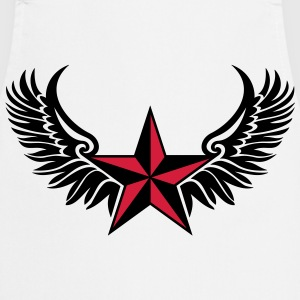 Nautical Star - Protection Symbol - Tattoo Style T-Shirts - Cooking Apron