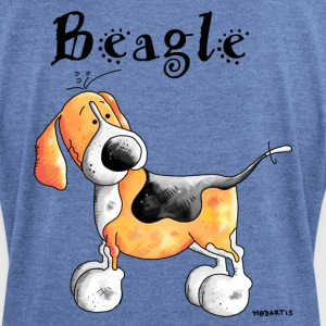 Sweet Beagle - Dog - Dogs Hoodies & Sweatshirts - Women's T-shirt with rolled up sleeves
