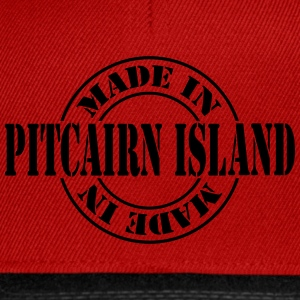made_in_pitcairn_island_m1 Shirts - Snapback Cap
