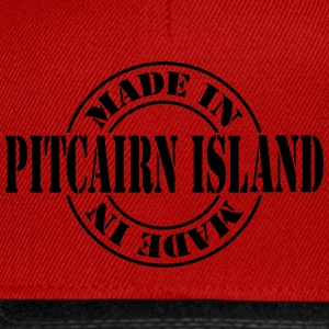 made_in_pitcairn_island_m1 Tops - Snapback Cap