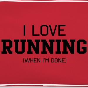 I Love Running When I'm Done T-Shirts - Retro Bag
