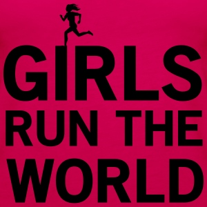 Girls Run the World T-Shirts - Women's Premium Tank Top