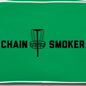 Disc Golf Chain Smoker T-Shirts - Retro Bag