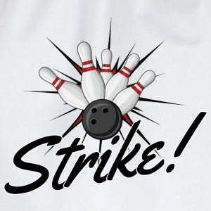 Strike! T-Shirts - Drawstring Bag