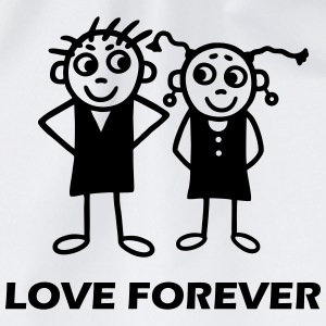 Couple - Love forever T-Shirts - Drawstring Bag