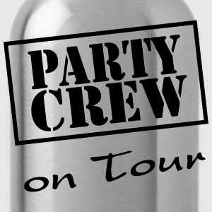 Party Crew on Tour T-shirts - Drikkeflaske