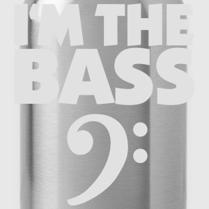I'm the Bass (Blanc) Tee shirts - Gourde