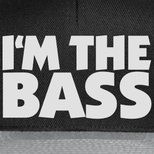 Im the Bass 2 (White) T-Shirts - Snapback Cap