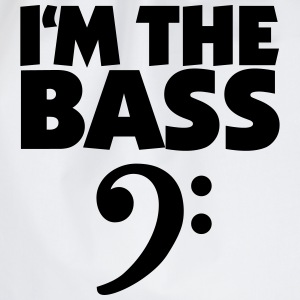 I'm the Bass für Bassisten und Tieftöner T-Shirts - Drawstring Bag