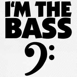 I'm the Bass (Black) Tee shirts - Casquette classique