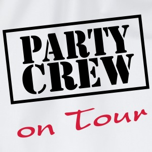 Party Crew on Tour T-shirts - Gymnastikpåse