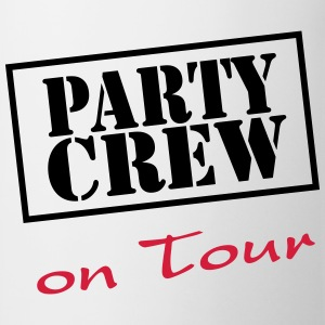 Party Crew on Tour T-shirts - Kop/krus