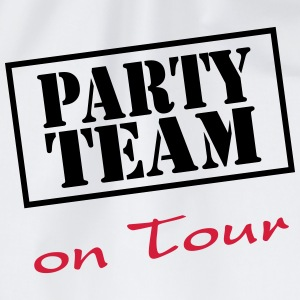 Party Team on Tour T-shirts - Gymnastikpåse
