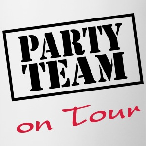 Party Team on Tour T-shirts - Kop/krus