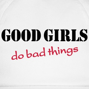 Good girls do bad things Koszulki - Czapka z daszkiem