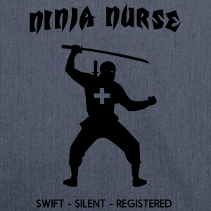 Ninja Nurse T-Shirts - Shoulder Bag made from recycled material