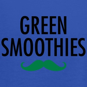 Green Smoothies (Moustache) T-shirts - Vrouwen tank top van Bella