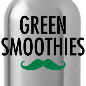 Green Smoothies (Moustache) T-shirts - Drinkfles