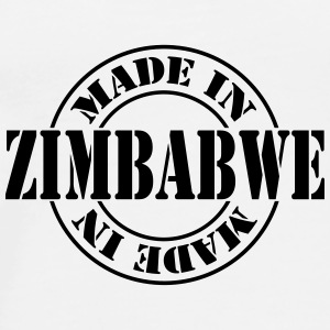made_in_zimbabwe_m1 Flaskor & muggar - Premium-T-shirt herr