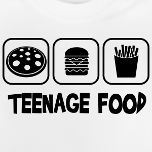 Teenage food Tee shirts - T-shirt Bébé