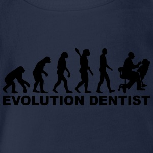 Evolution Dentist T-Shirts - Baby Bio-Kurzarm-Body