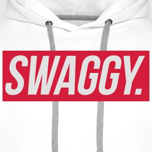 Swaggy T-shirts - Mannen Premium hoodie